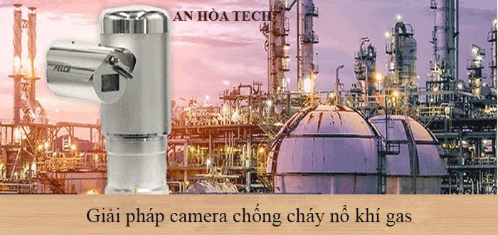 Camera chống cháy nổ lĩnh vực đầu khí và khí gas