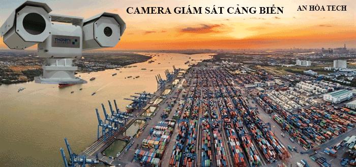 Camera quan sát cảng biển