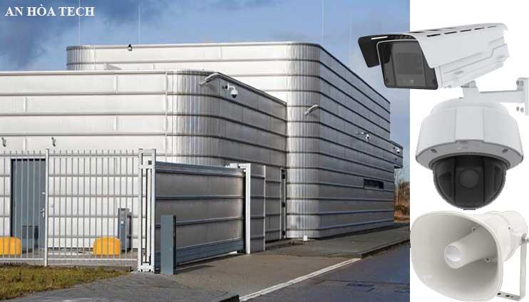 Giải pháp toàn diện camera quan sát nhà máy công nghiệp