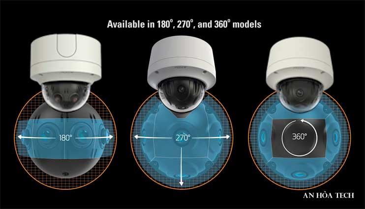 Camera IP toàn cảnh 360 độ Panoramic IP 12 MP Optera đa cảm biến