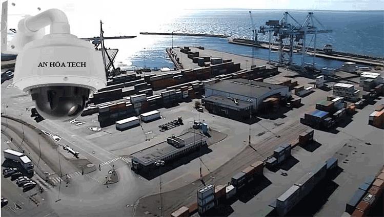 Camera quan sát cảng biển khu vực rộng quan sát bán kính 15km