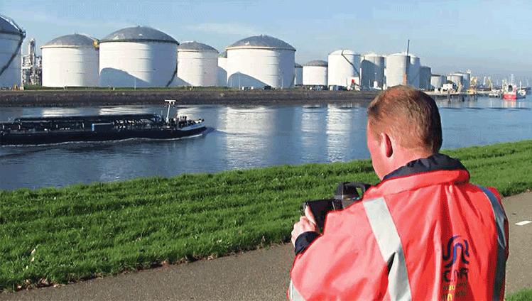 Camera máy ảnh quang học dò phát hiện rò rỉ khí gas LPG, khí thiên nhiên NLG