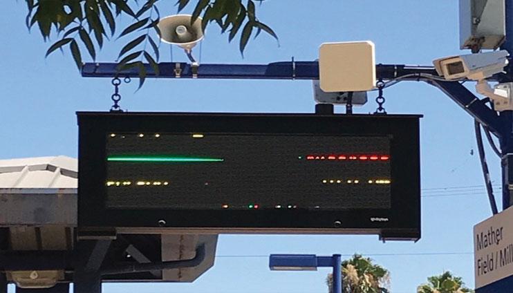 Radar giao thông đo tốc độ kết hợp camera AI chụp biển số xe
