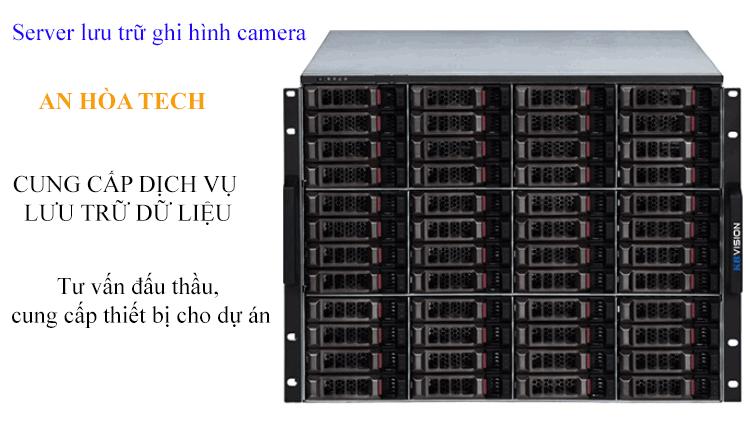 Server lưu trữ dữ liệu camera, quản lý 512 kênh 48 ổ cứng camera ip