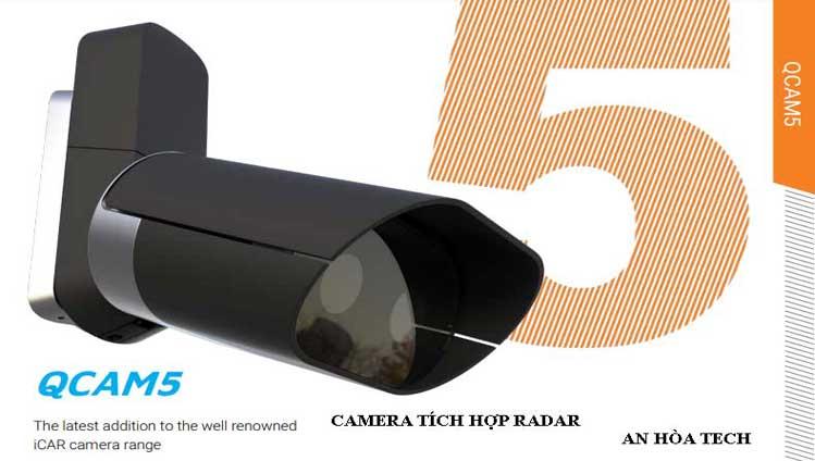 Camera giao thông thông minh, đo tốc độ tầm nhìn lên đến 300km/h
