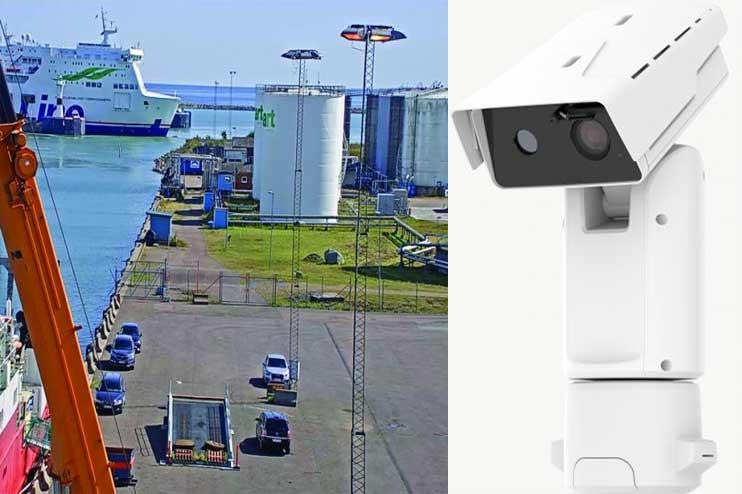 Camera PTZ nhiệt chống cháy nổ nhận dạng khuôn mặt tầm nhìn 3km
