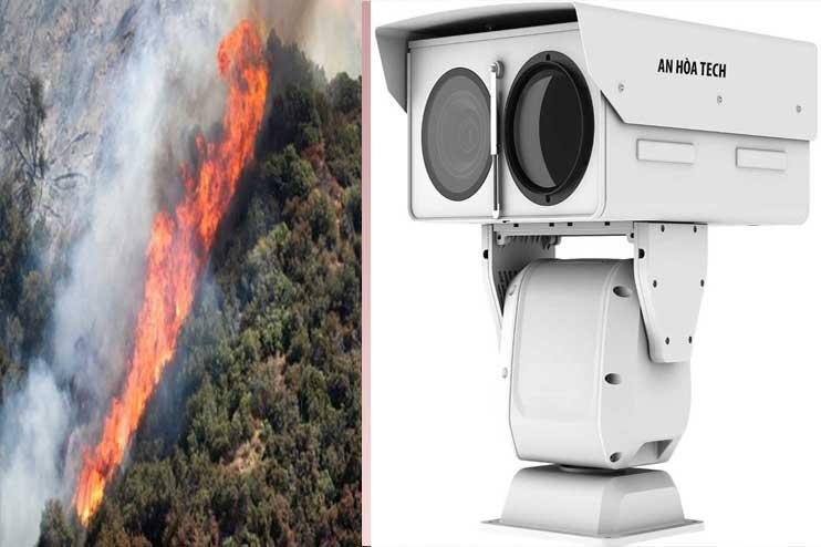 Camera cảnh báo cháy rừng bảo vệ động vật phát hiện người xâm nhập