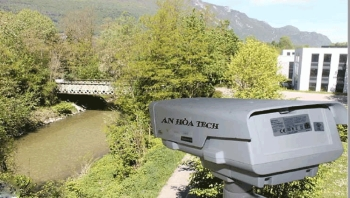 Camera quan trắc môi trường giám sát mực nước cảnh báo mưa sạt lở